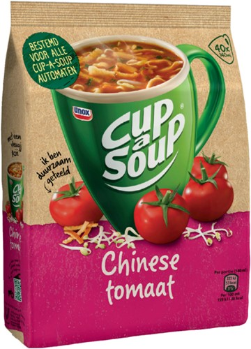 Cup-a-soup machinezak Chinese tomaat met 40 porties-2