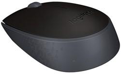Muis Logitech B170 draadloos zwart