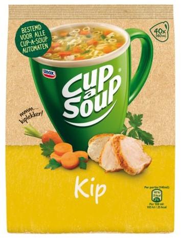 Cup-a-soup machinezak kip met 40 porties-1
