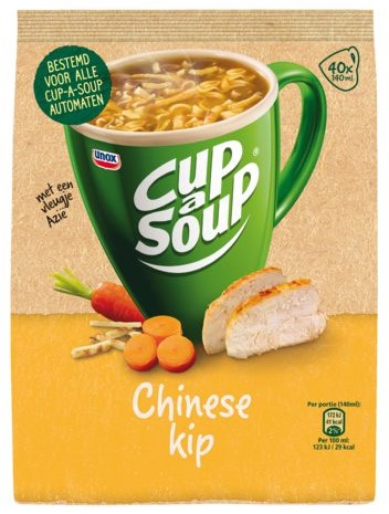 Cup-a-soup machinezak Chinese kip met 40 porties-1