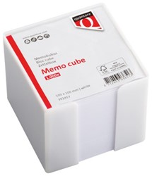 Memokubus Quantore 10x10x9cm wit met 900vel