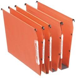 Hangmap Esselte Orgarex Dual lateraal 30mm oranje