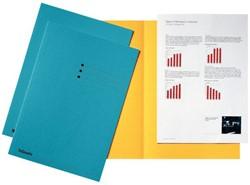 Inlegmap Esselte 180gr karton blauw