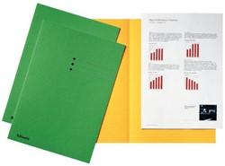 Vouwmap Esselte A4 manilla 180gr groen