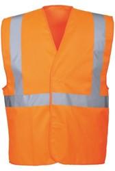 Veiligheidsvest Portwest C472 fluor oranje L / XL