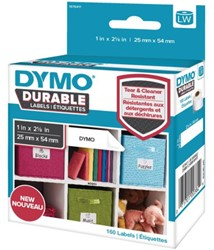 Etiket Dymo 1976411 labelwriter 25x54mm 160 stuks