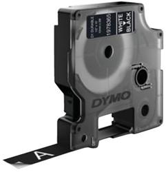 Labeltape Dymo Durable 1978365 12mmx3m wit op zwart