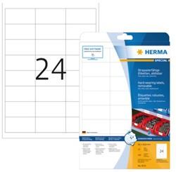 Etiket Herma 4573 66x33.8mm 480st wit