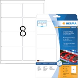 Etiket Herma 4575 99.1x67.7mm 160st folie wit