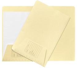 Dossiermap Jalema folio 1 klep 160gr lichtgeel