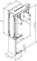 CPU houder Newstar D100 30kg wit-2