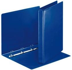 Presentatieringband Esselte A4 4-rings D-mech 25mm blauw