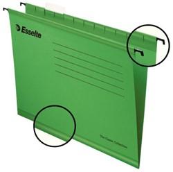 Hangmap Esselte Classic A4 V-bodem groen