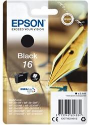 Inkcartridge Epson 16 T1621 zwart