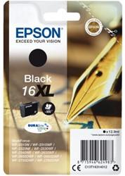 Inktcartridge Epson  16XL T1631 zwart HC