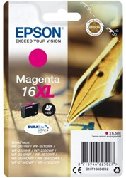 Inkcartridge Epson  16XL T1633 rood HC