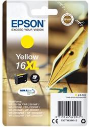 Inkcartridge Epson 16XL T1634 geel HC