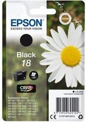 Inkcartridge Epson 18 T1801 zwart