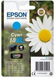 Inktcartridge Epson 18XL T1812 blauw HC