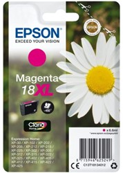 Inktcartridge Epson 18XL T1813 rood HC