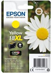 Inktcartridge Epson  18XL T1814 geel HC