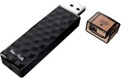 USB-stick Sandisk connect wireless 32GB 2.0 zwart