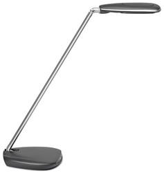 Bureaulamp Maul Pulse colour vario ledlamp zilvergrijs