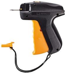 Schietpistool Sigel kunststof met naald zwart/oranje