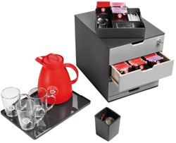 Coffee Point Box Durable 3385-58 antraciet-lichtgrijs