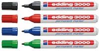 Viltstift edding 3000 rond zwart 1.5-3mm-2