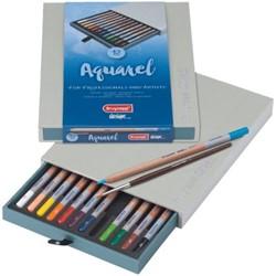 Kleurpotloden Bruynzeel 8835 Design aquarel 12stuks assort