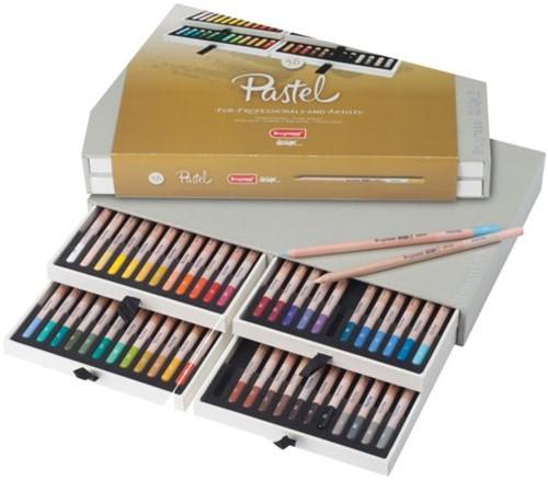 Kleurpotloden Bruynzeel 8840 Design pastel 48stuks assorti
