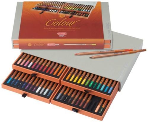 Kleurpotloden Bruynzeel Colour box 48stuks assorti