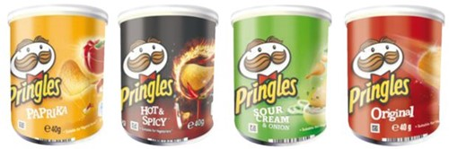Chips pringles hot and spicey 40gr-2