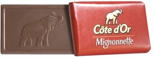 Chocolade Cote d'Or 10gr mignonnette melk 120 stuks-2