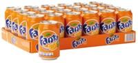 Frisdrank Fanta Orange blikje 0.33l-2