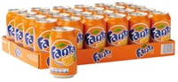 Frisdrank Fanta Orange blikje 0.33l-3