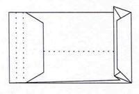 Envelop Quantore monsterzak 262x371x38mm zelfkl. wit 10stuks-2