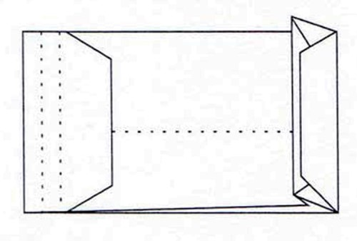 Envelop Quantore monsterzak 229x324x38mm zelfkl. wit 10stuks-3