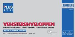Envelop Plus Office venster links EA5/6 110x220 80gr