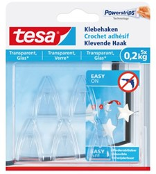 Klevende haak Tesa transparant 0.2kg