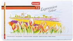 Kleurpotloden Bruynzeel Expression 7705 ass  blik à 72 stuks