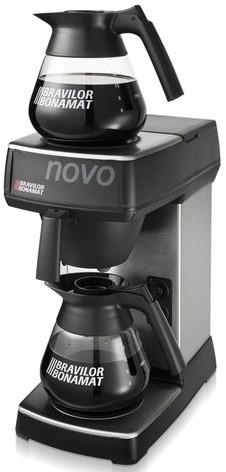 Koffiezetapparaat Bravilor Novo inclusief glazen kan-3