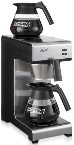 Koffiezetapparaat Bravilor Mondo + 2 glazen kannen-2