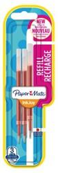 Gelschrijvervulling Paper Mate Inkjoy rood