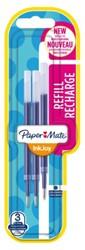 Gelschrijvervulling Paper Mate Inkjoy blauw