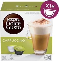 Koffie Dolce Gusto Cappuccino 16 cups voor 8 kopjes
