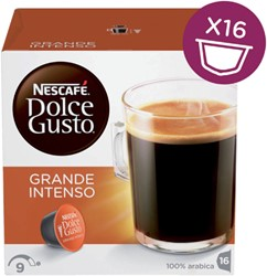 Koffie Dolce Gusto Grande Intenso 16 cups