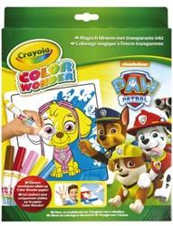 Kleurboek Crayola Color Wonder Paw Patrol met stiften