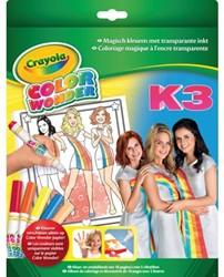 Kleurboek Crayola Color Wonder K3 met stiften